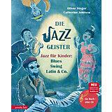 Die Jazzgeister, 1 Audio-CD
