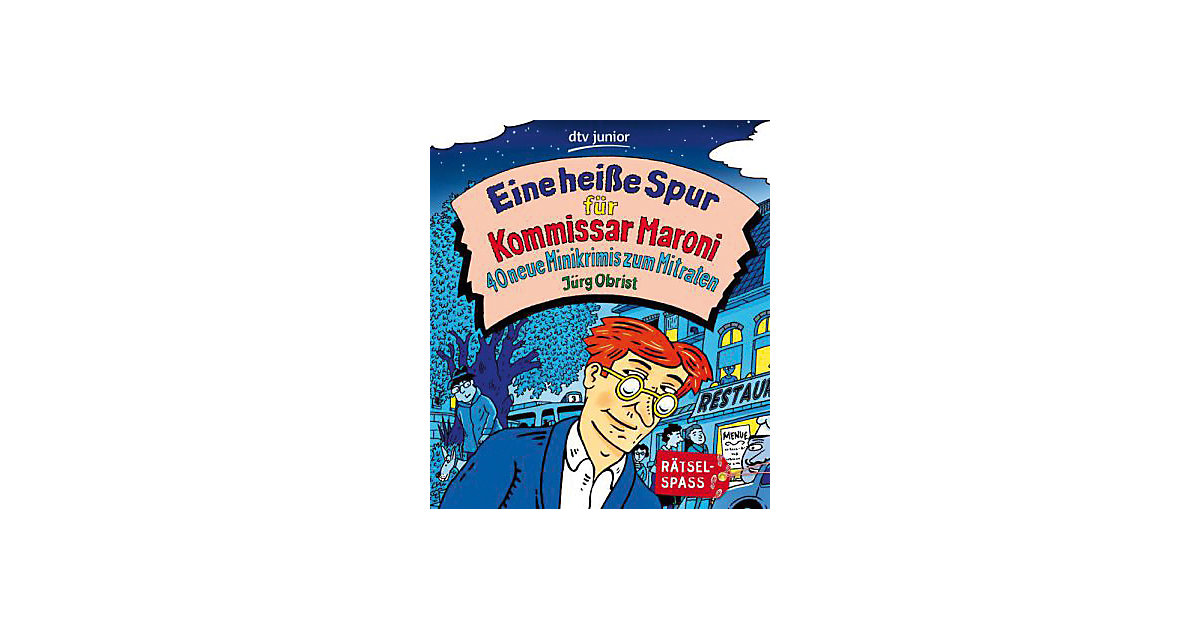 Buch - Eine heiße Spur Kommissar Maroni Kinder