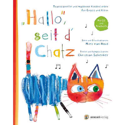 Hallo, seit d'Chatz, 1 Audio-CD