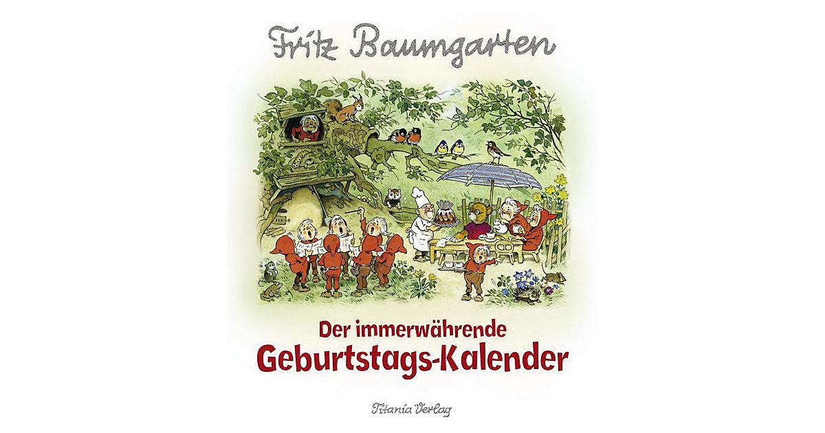 Buch - Immerwährender Geburtstags-Kalender