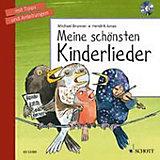 Meine schönsten Kinderlieder, inkl. 1 Audio-CD