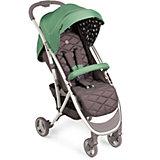 Прогулочная коляска Eleganza, Happy Baby, зеленый