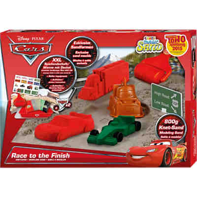 Magic Sand Box Cars - Race to the Finish
