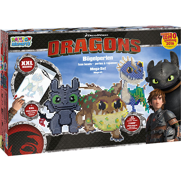 Bügelperlen Mega-Set Dragons