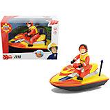 Водный скутер, 22см, Пожарный Сэм, Dickie
