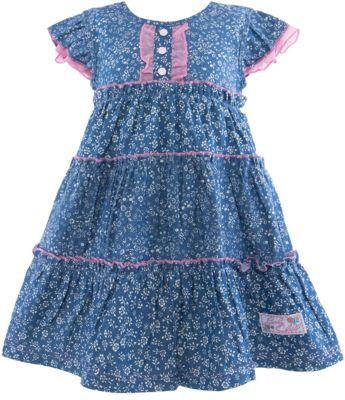 Платье для девочки Lucky Child - синий