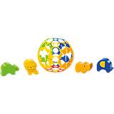 Развивающая игрушка - сортер «Приключения в джунглях», Oball