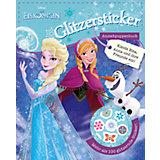 Disney Die Eiskönigin - Glitzersticker Anziehpuppenbuch