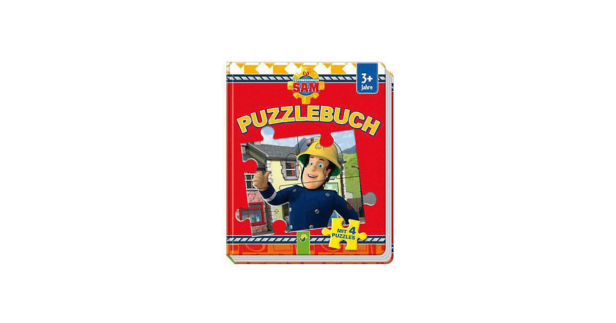 Buch - Feuerwehrmann Sam - Puzzlebuch