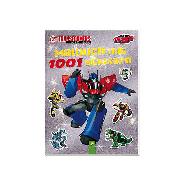 Transformers-Malbuch mit 1001 Stickern
