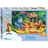 """Пазл """"Тридцать восемь попугаев"""", 104 детали, Step Puzzle"""