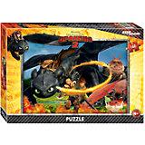 """Пазл """"Как приручить дракона-2"""", 160 детелей, Step Puzzle"""