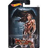 """Машинка """"Бэтмен против Супермена"""", в ассорт., Hot Wheels"""