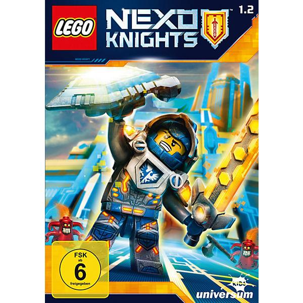 dvd lego nexo knights staffel 1 2 lego nexo knights. Black Bedroom Furniture Sets. Home Design Ideas