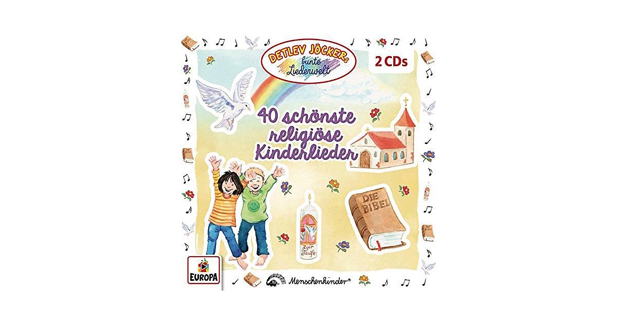 CD Detlev Jöcker - 40 schönste religiöse Kinderlieder