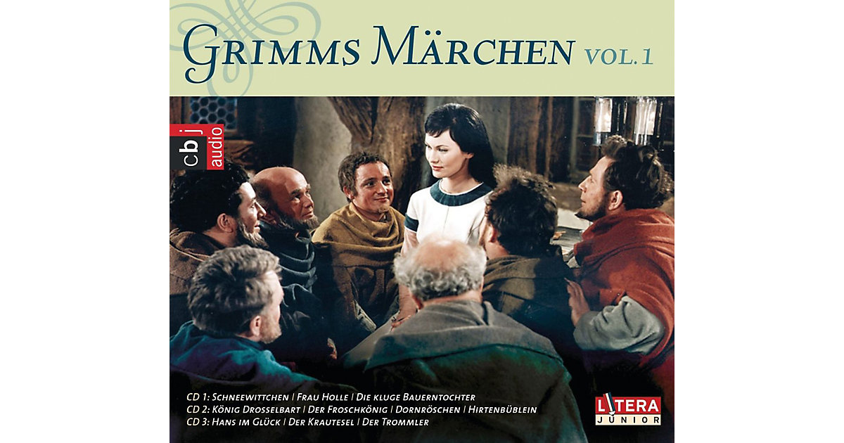 CD Gebrüder Grimm-Grimms Märchen Box 1 Hörbuch