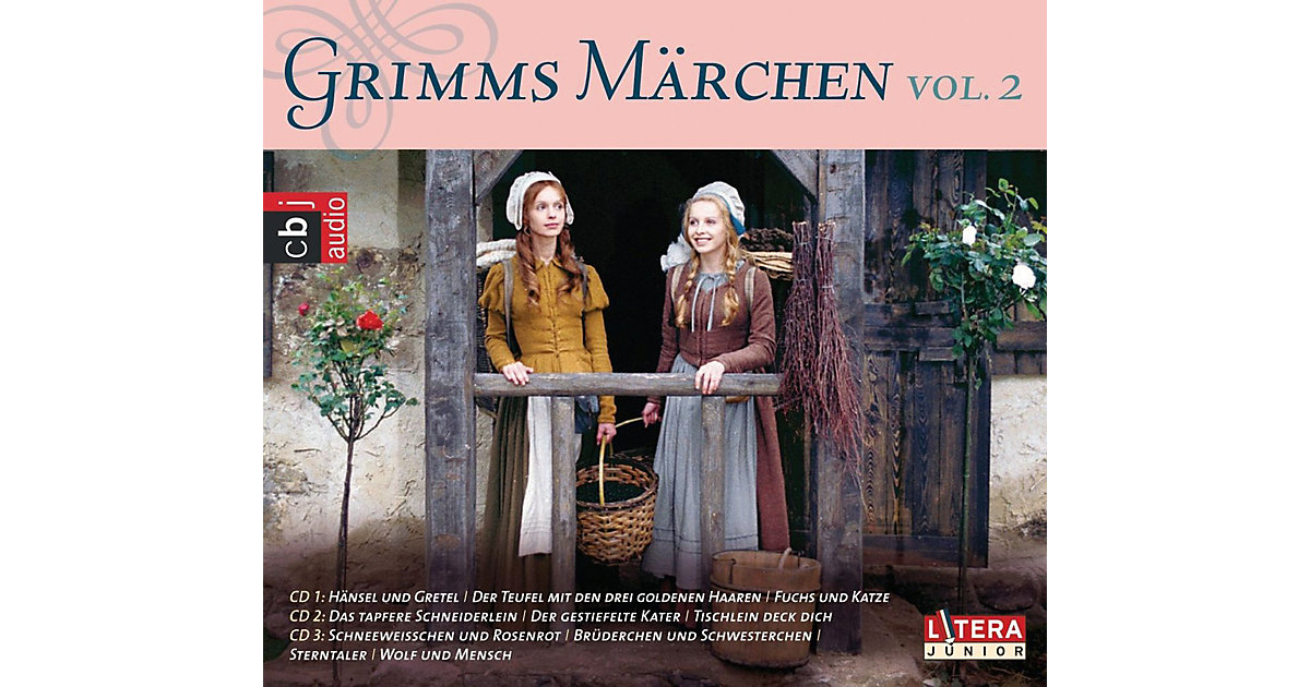 CD Gebrüder Grimm-Grimms Märchen Box 2 Hörbuch