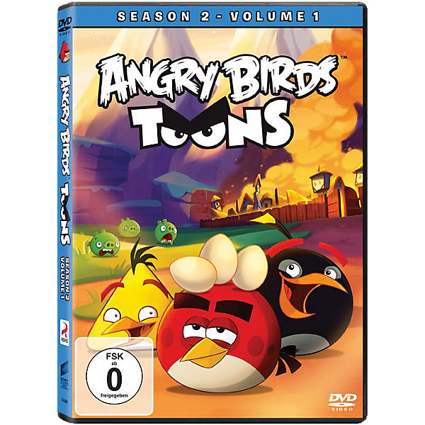 DVD Angry Birds Toons - Staffel 2.1