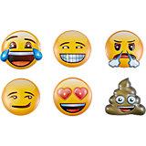 Masken Emoji, 6 Stück