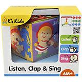 Музыкальный кубик, K's Kids