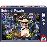 Blütenpracht Puzzle 1000 Teile