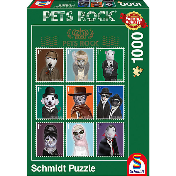 Pets Rock - Kino Puzzle 1000 Teile