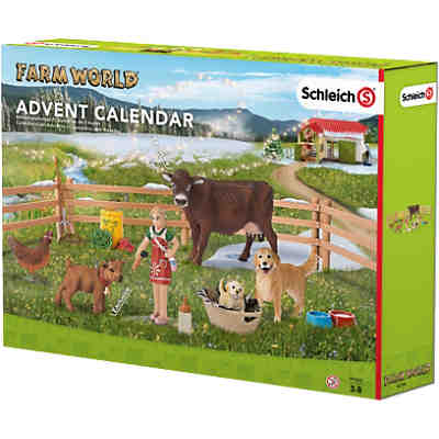 Schleich 97335 Farm World: Adventskalender Bauernhof