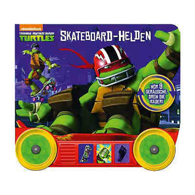 Teenage Mutant Ninja Turtles - Skateboard-Helden, mit Soundmodul