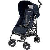 Прогулочная коляска Pliko Mini + бампер передний, Peg-Perego, Mod Navy синий