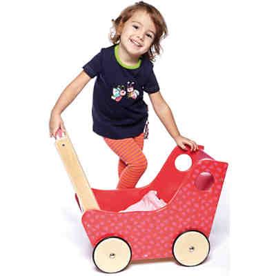 HABA 0950 Holz-Puppenwagen, Haba  myToys