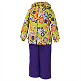 Комплект: куртка и брюки для девочки Huppa
