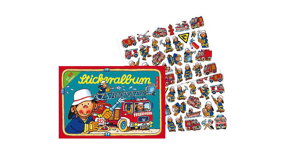 Stickeralbum Feuerwehrmann Benny Brandmeister