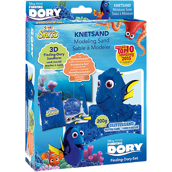 Magic Sand Findet Dorie Set