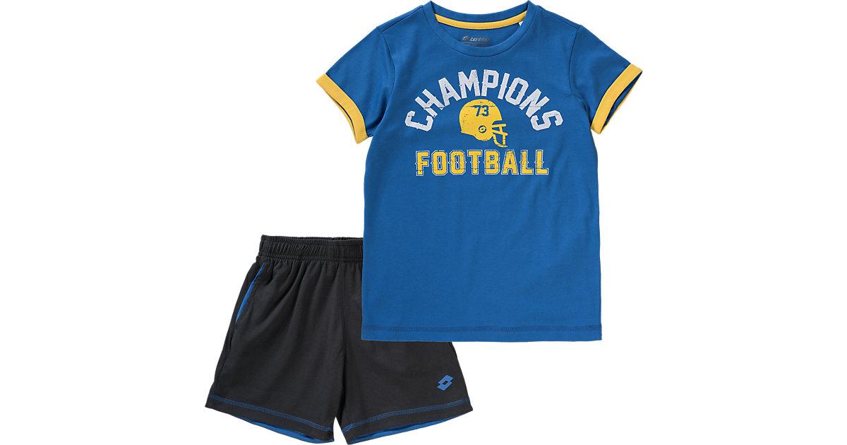 T-Shirt + Shorts MARCUS II blau Gr. 164/176 Jungen Kinder