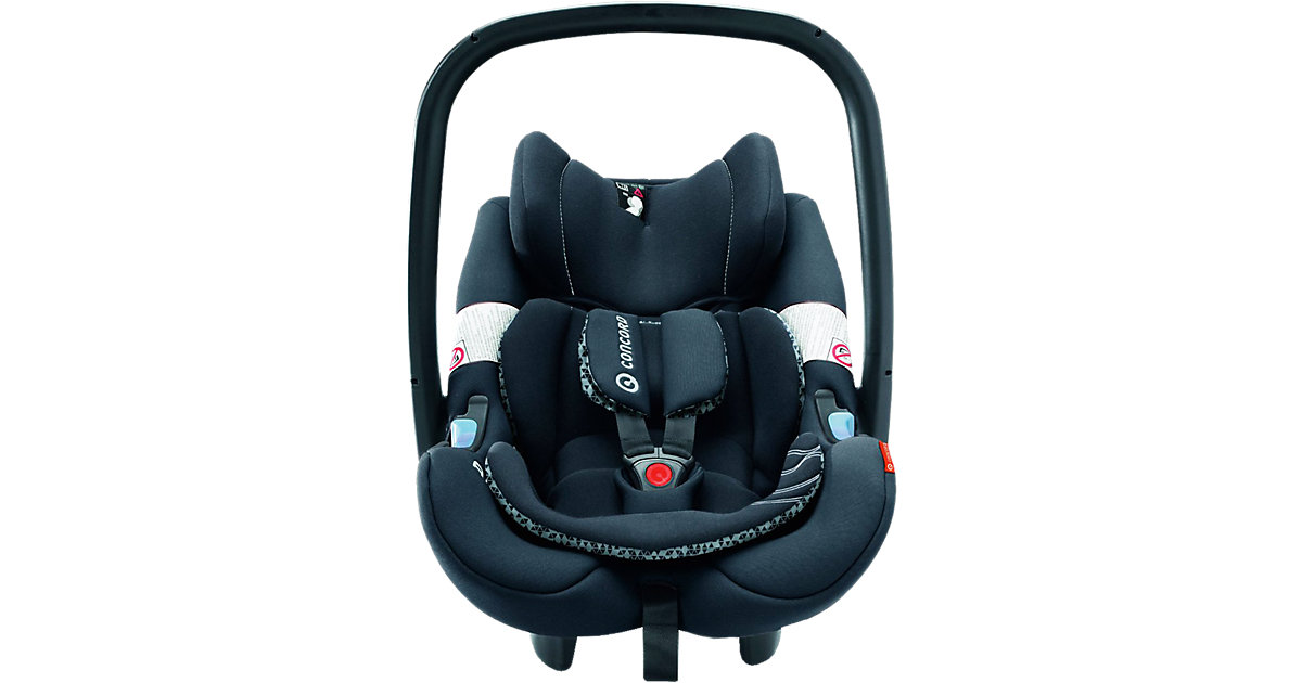 Babyschale Air.Safe, Midnight Black, 2016 schwarz Gr. 0-13 kg