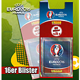 Panini UEFA EM Frankreich 2016  BLISTERPACK mit 16 TÜTEN