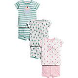 Schlafanzug 3er-Pack für Mädchen