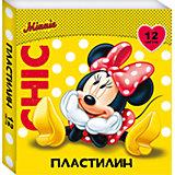 """Пластилин """"Минни Маус"""" 12 цветов"""
