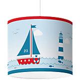 Lampenschirm Sailing, rot, Ø50cm
