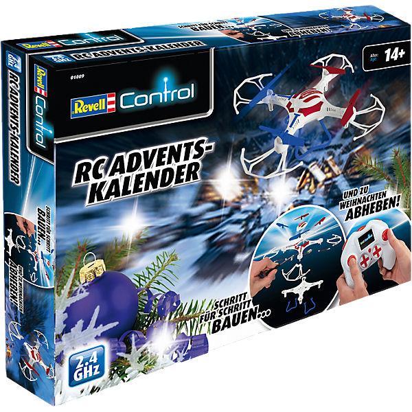 Revell Adventskalender Quadcopter Quadrocopter