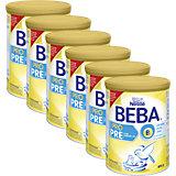 6er Pack BEBA PRO Pre - Von Geburt an Säuglingsmilchnahrung