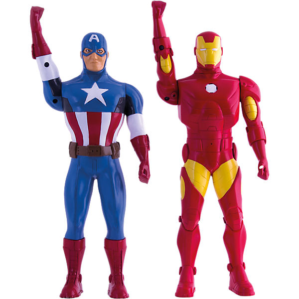 Avengers Walkie Talkie Figur Iron Man 3 + Captain America