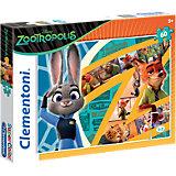 Puzzle 60 Teile - Disney Zoomania