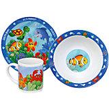 """Набор """"Морские животные"""" (3 предмета, керамика)"""