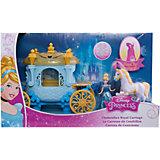Кукла Золушка, в наборе с каретой и лошадью, Принцессы Дисней, Mattel