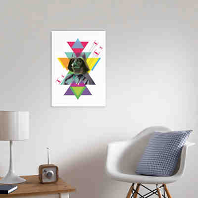 Canvas Wandbild Star Wars Darth Vader, 50 x 70 cm