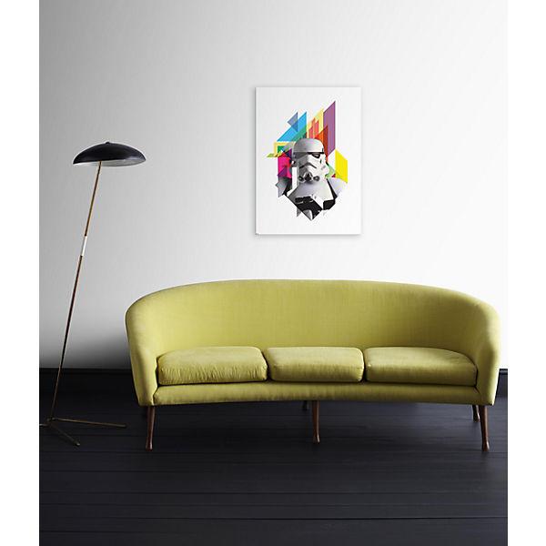 canvas wandbild star wars may the force 50 x 70 cm star wars mytoys. Black Bedroom Furniture Sets. Home Design Ideas