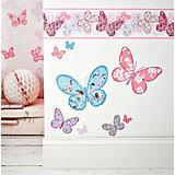 Wandsticker Schmetterlinge, 25 x 70 cm
