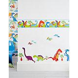 Wandsticker Dinosaurier, 25 x 70 cm