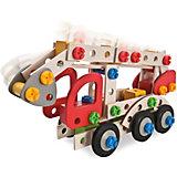HEROS Constructor Feuerwehrauto, 155-tlg.